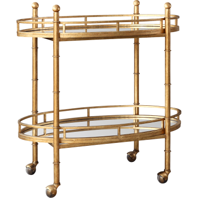 stylish tray cart