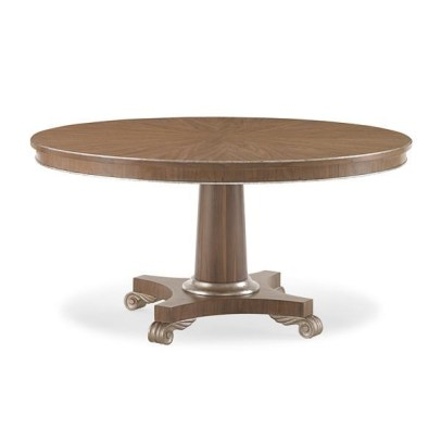 coffee-finish dining table
