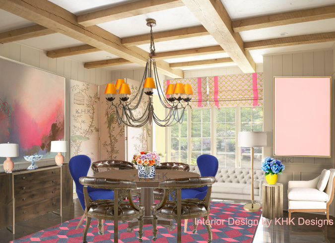 Chic Country Dining Room