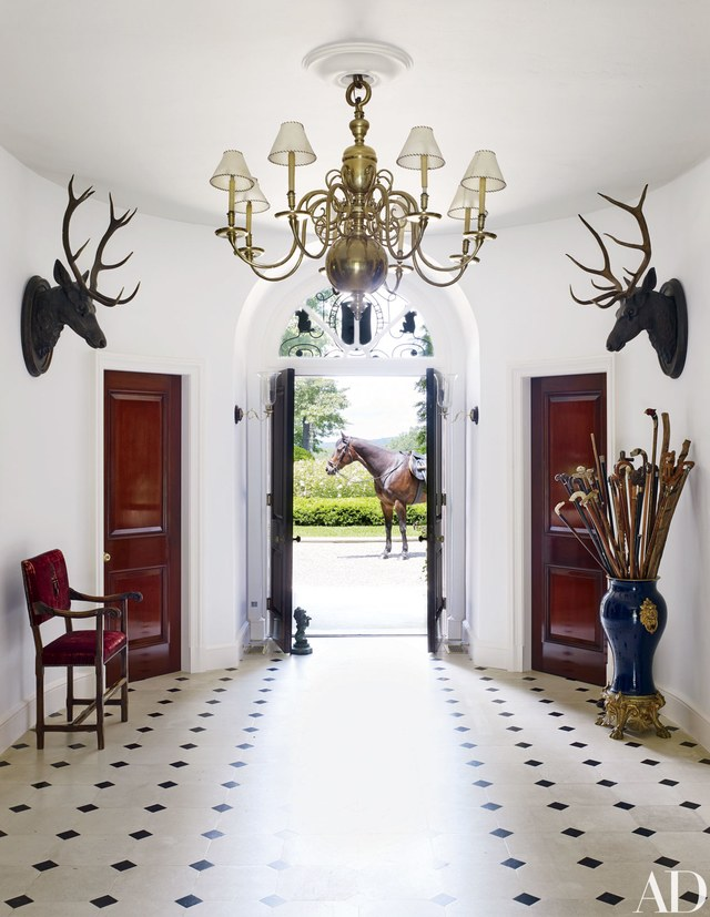 Tuesday House Tour Fashion Designer Ralph Lauren S Home And Office Khk Designs