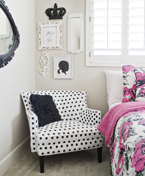 pppPainted-polka-dot-chair