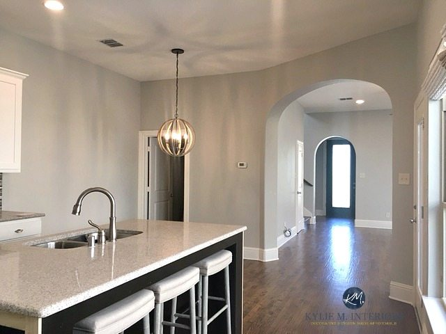 RSherwin-Williams-Repose-Gray-in-an-open-layout-kitchen-dining-and-living-room.-A-warm-gray.-Kylie-M-Interiors-E-design-and-online-decorating-and-colour-consulting