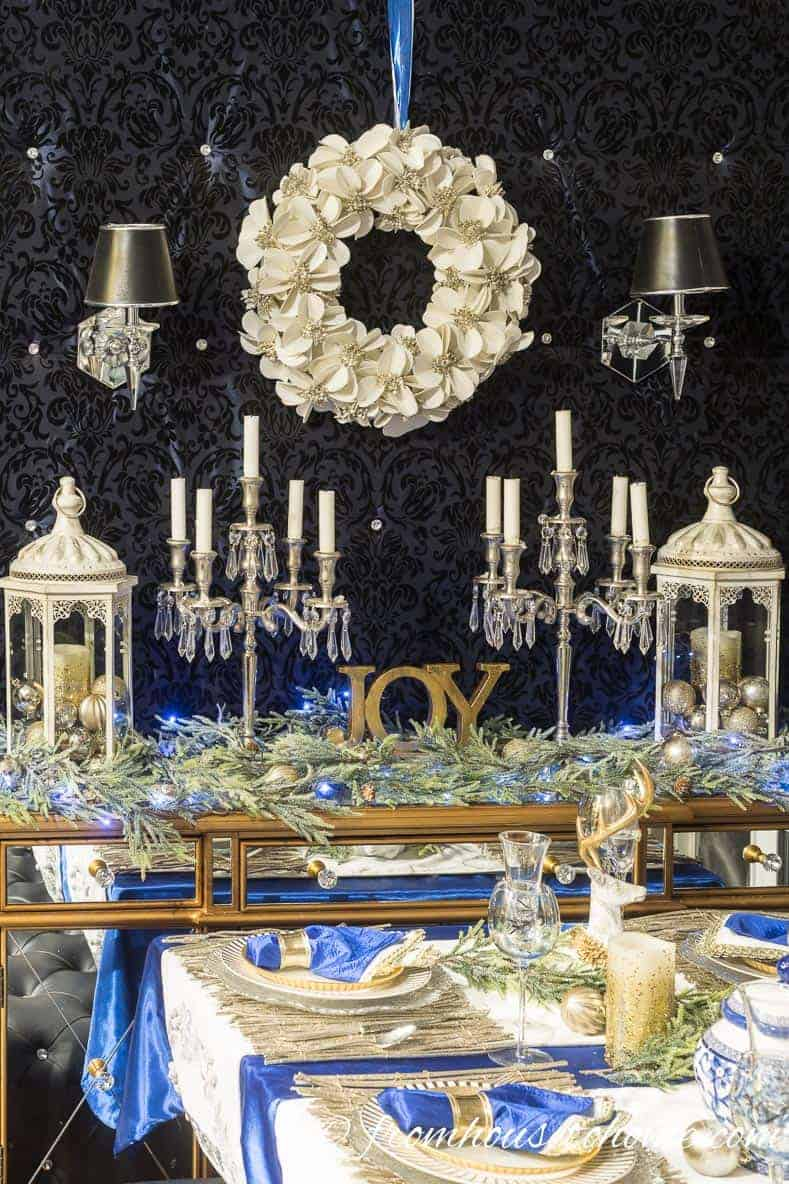blue-and-white-christmas-buffet