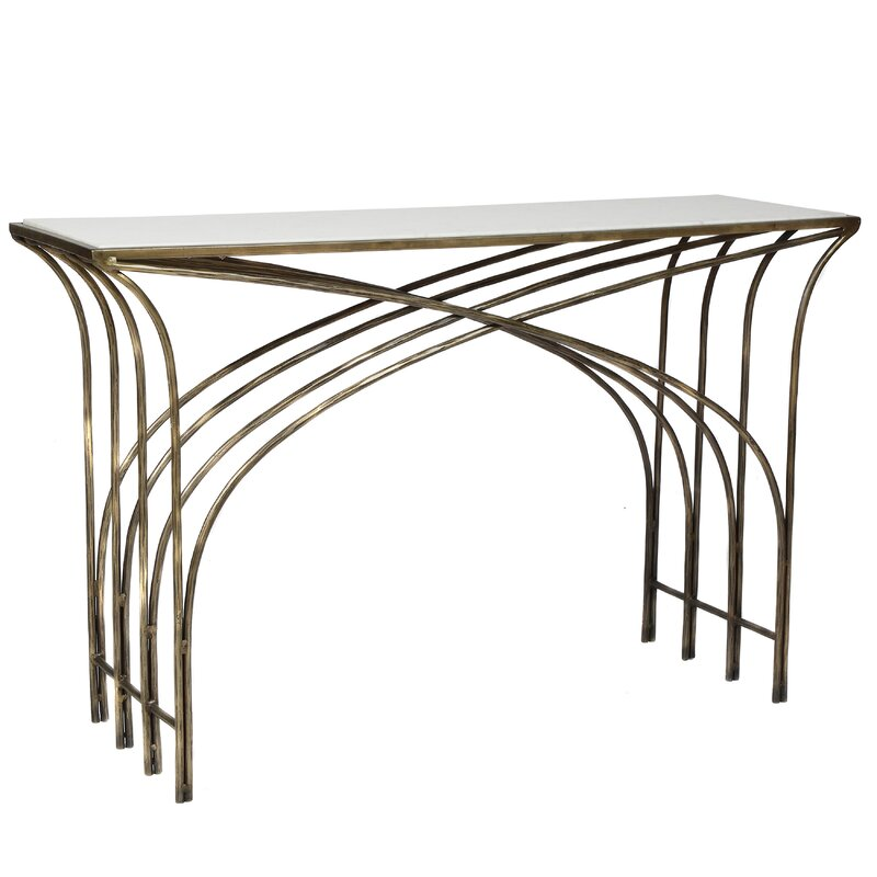 Kim+Marble+48+Console+Table