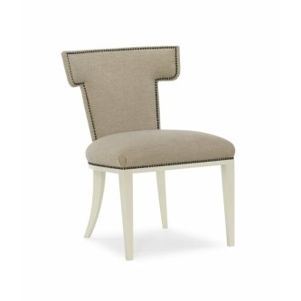 Klismos+Upholstered+Dining+Chair