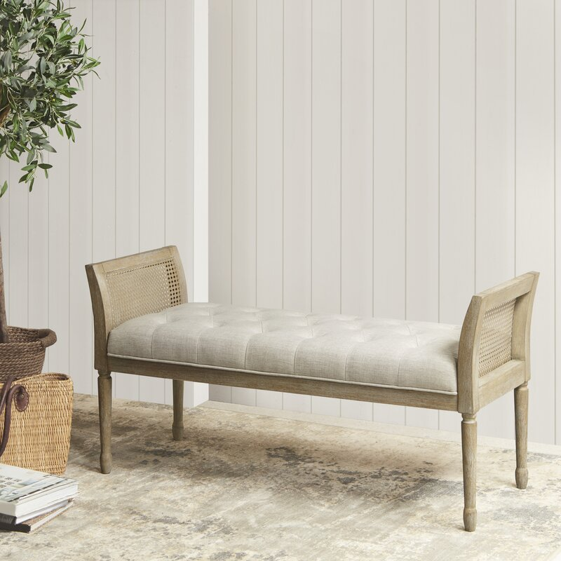 Martha+Stewart+Isla+Upholstered+Bench