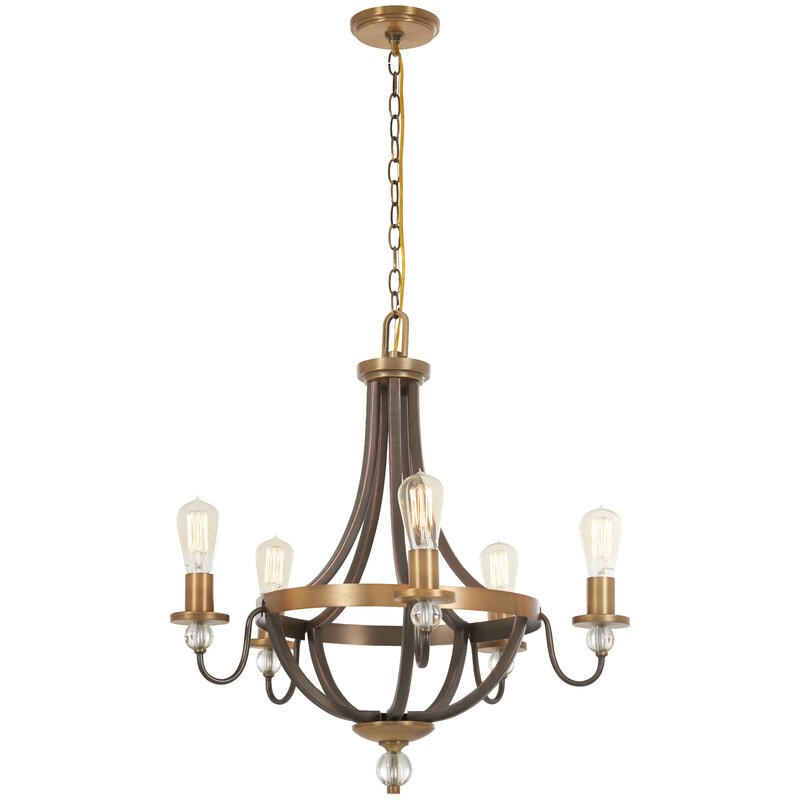 Mauer+5+-+Light+Candle+Style+Empire+Chandelier