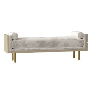 Maxwell+Upholstered+Bench