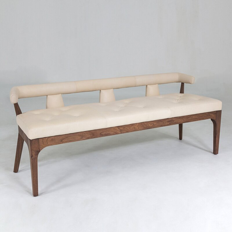 Moderno+Upholstered+Bench