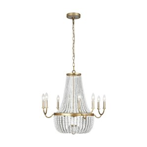 Quan+8+-+Light+Candle+Style+Empire+Chandelier+with+Crystal+Accents