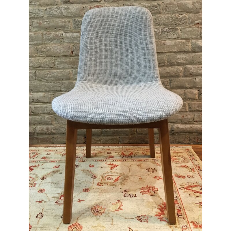 Ryann+Mid-Century+Upholstered+Dining+Chair