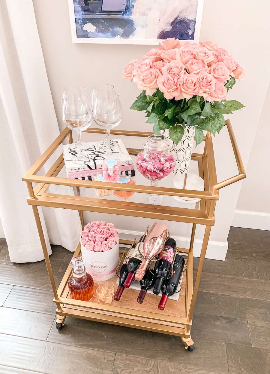 target-bar-cart-valentines-day-chic-wine-rack-girly-feminine-decor-home-decor-blogger-1