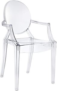 lucite dining chair