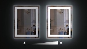 Wall-mounted LED Mirror