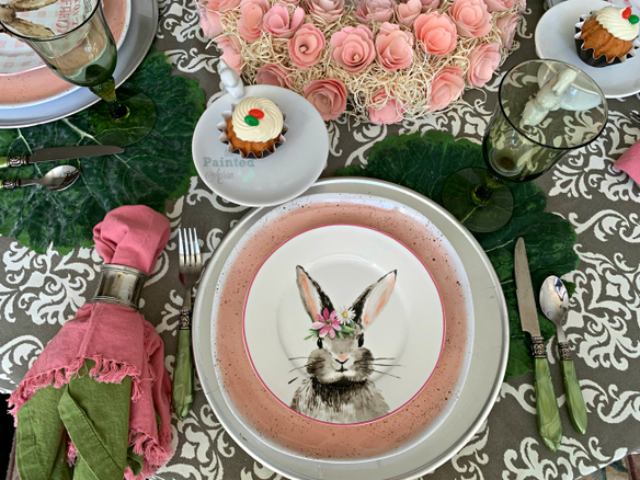 bbblushing-bunny-place-setting