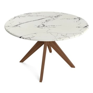 Grafton+Faux+Marble+Dining+Table
