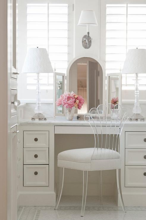 lucite-vanity-chair-with-upholstered-seat-cushion