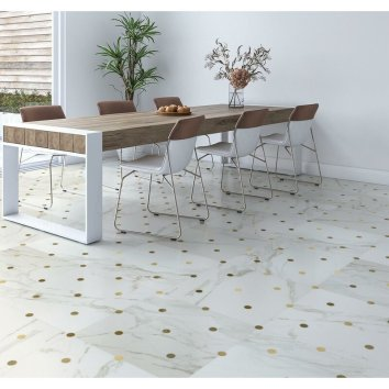 2Kait+23.5+x+23.5+Porcelain+and+Metal+Mosaic+Tile