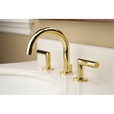 Pavani+Lavatory+Widespread+Bathroom+Faucet+with+Drain+Assembly