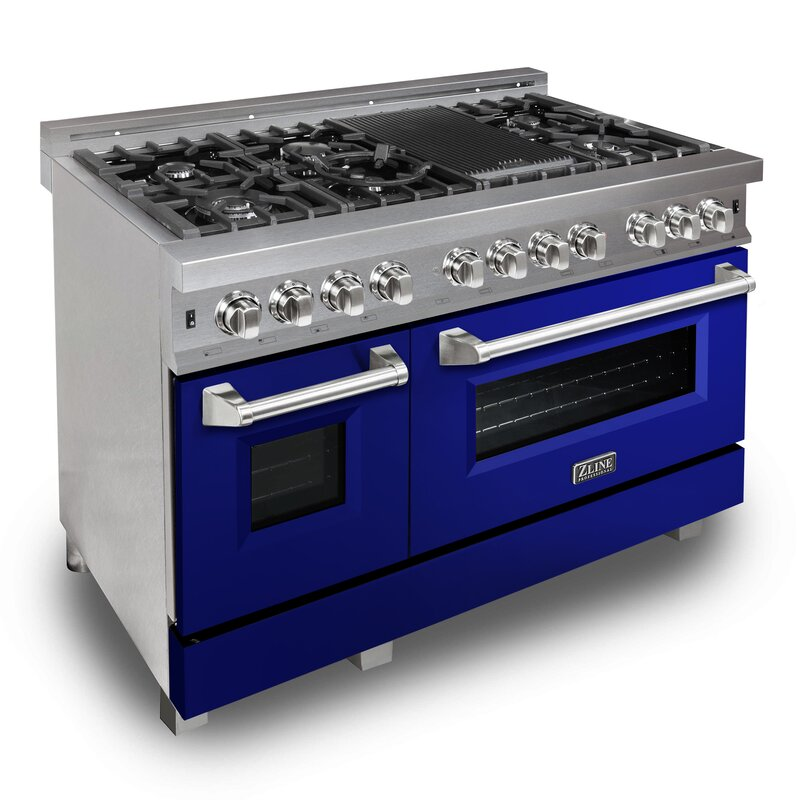 Professional+48+6+cu.+ft.+Freestanding+Dual+Fuel+Range