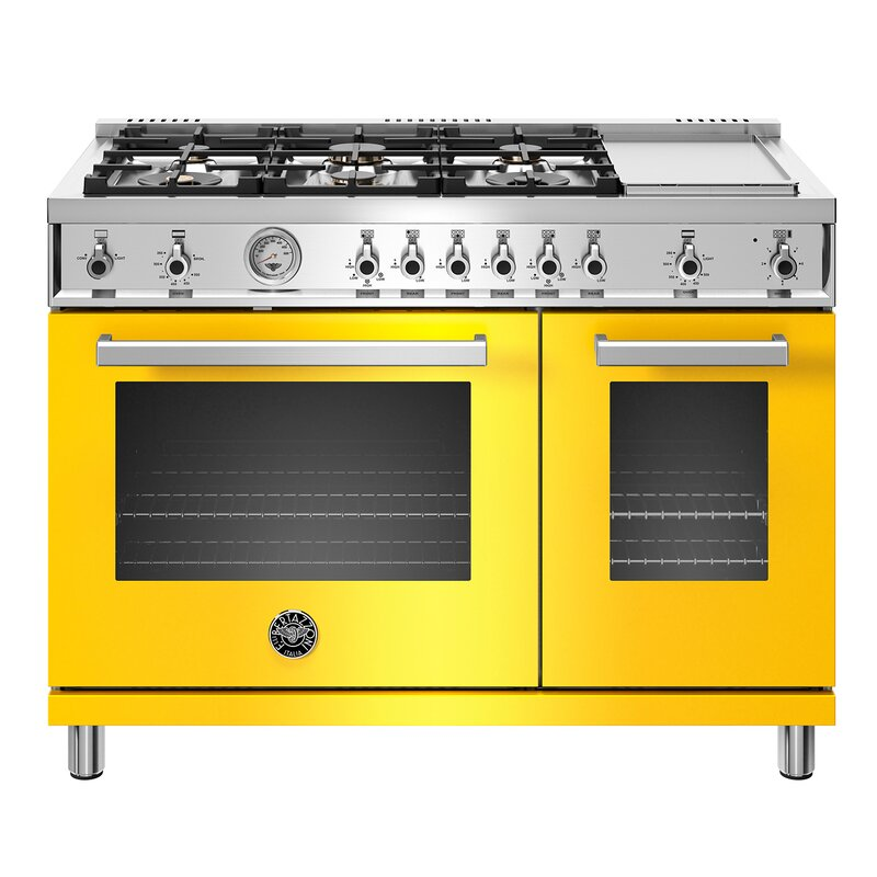 Professional+Series+48+7+cu+ft.+Freestanding+Gas+Range+with+Griddle