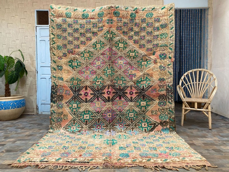 Colorful Moroccan Hand-made Rugs