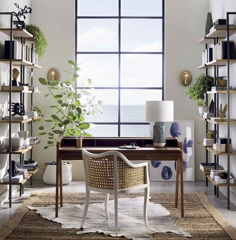 mixing-and-matching home office idea