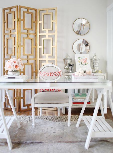 glam home office