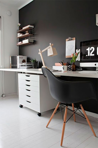 scandivia home office style