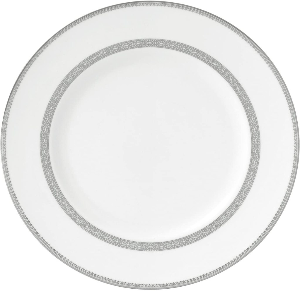 "Wedgwood Vera Lace Dinner Plate, 10.75"", White"