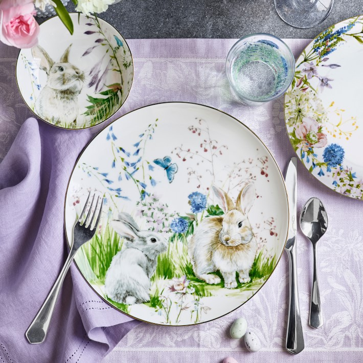 Easter Spring Plate