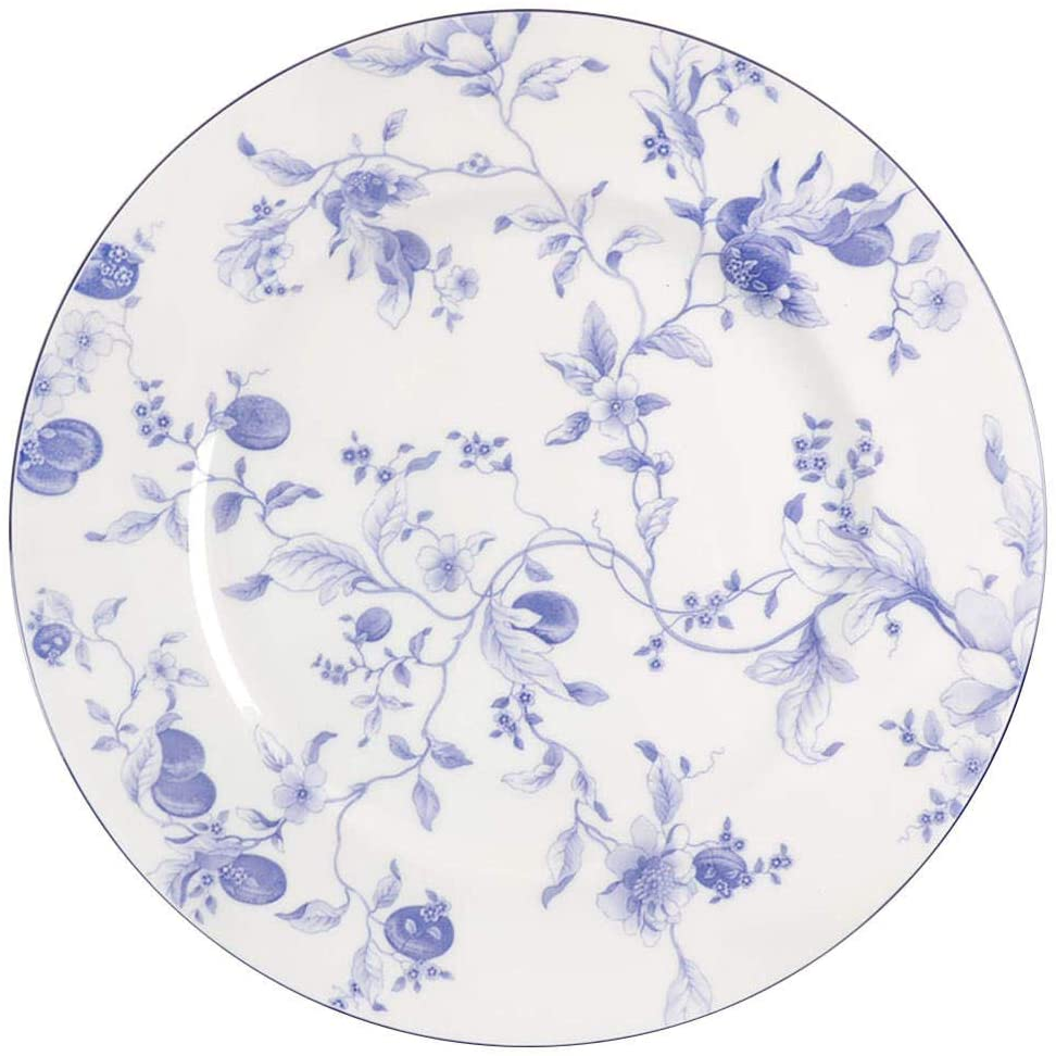 Wedgwood Blue Plum Dinner Plate