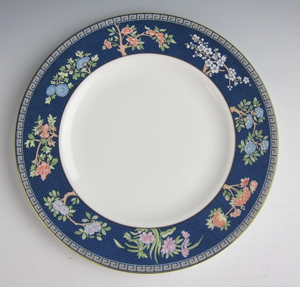 Wedgwood China BLUE SIAM Dinner Plate(s) Multiple Available EXCELLENT