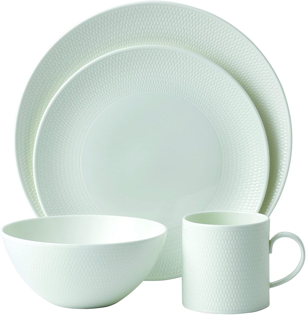 Wedgwood Gio 4-Piece Place Setting, White