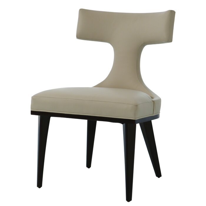 """Anvil 22"""" W Top Grain Leather Side Chair"""