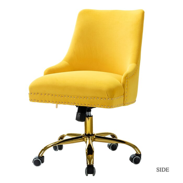 Yellow Berkley Home Office Chair