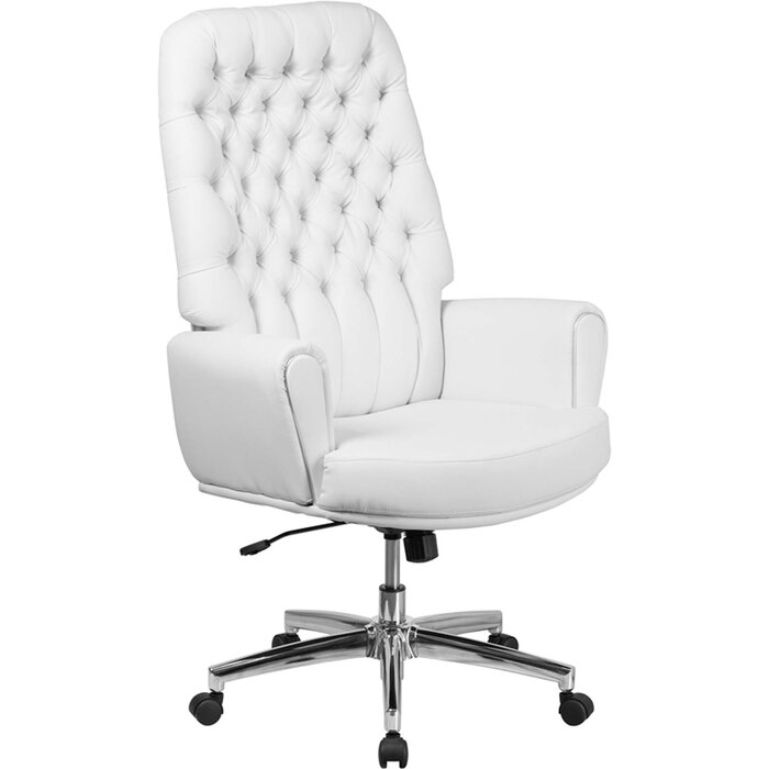 High Back Executive Chair white