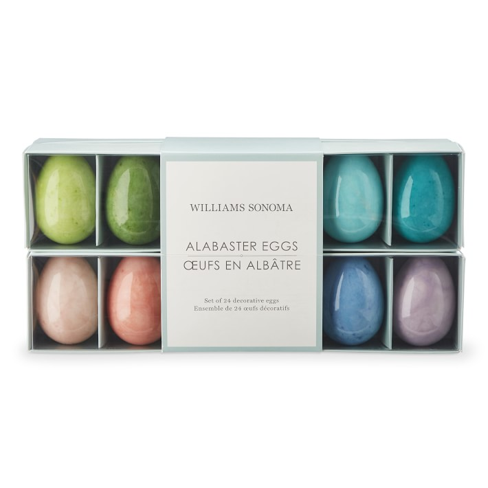 Alabaster Eggs ONLY AT WILLIAMS SONOMA