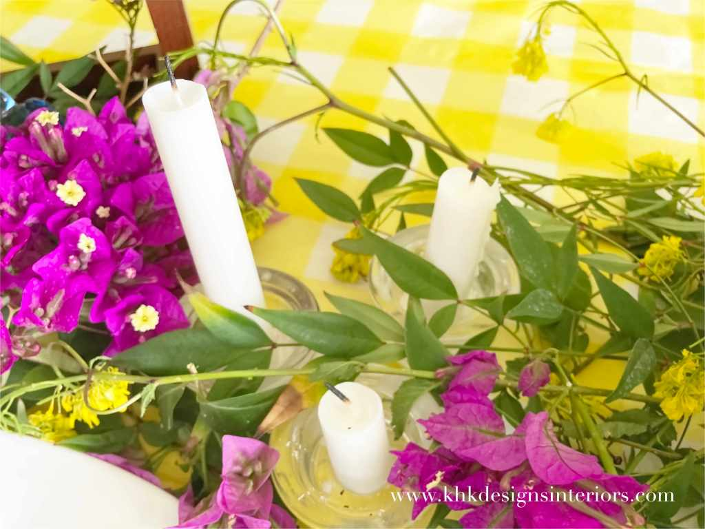 The Soft Yellow Tablecloth