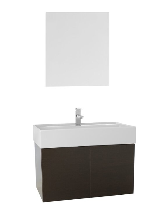 "Lieberman 31"" Single Bathroom Vanity Set with Mirror"