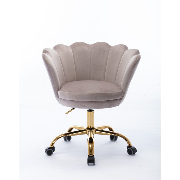 Weingartner Home Office Velvet Task Chair