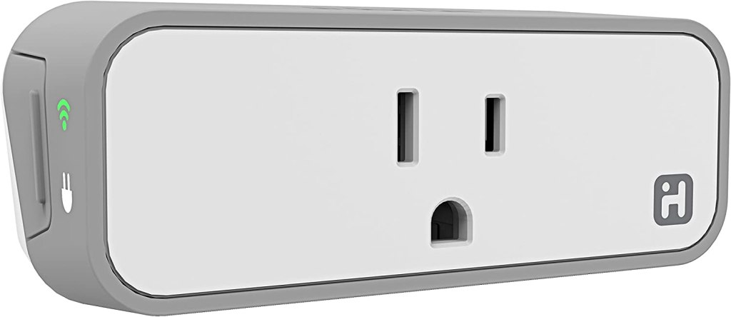 iHome ISP6X Wi-FI Smart Plug , Use your voice to control connected devices, Works with Alexa, Google Assistant and HomeKit enabled smart speakers