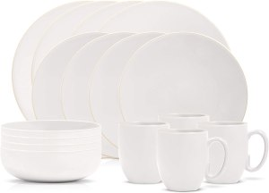 Wedgwood Vera Color White, 16 piece set stoneware