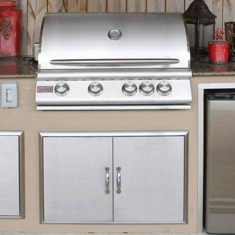 Built-in grill trend 2021