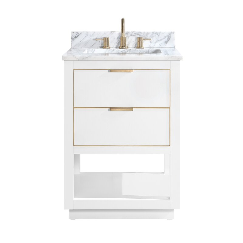 "Bryana 25"" Single Bathroom Vanity Set"