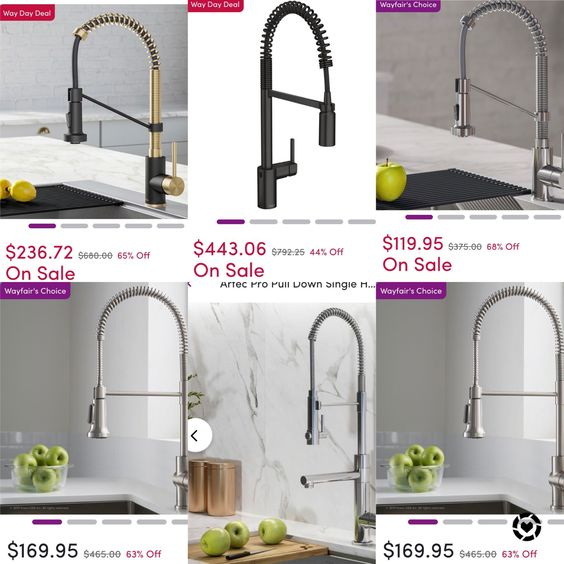 High Style Kitchen Pull-Down Faucet