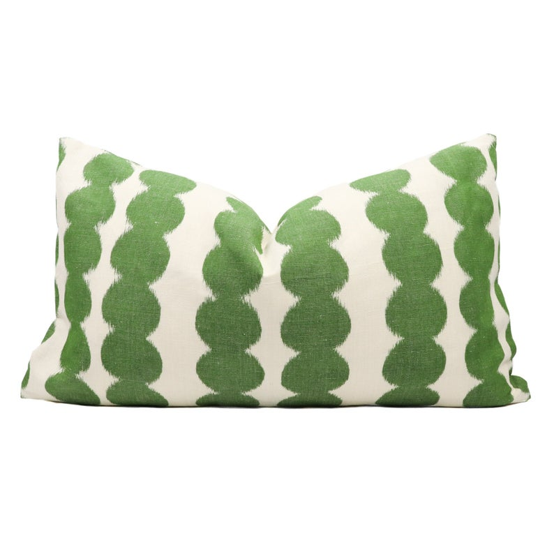 BACKORDER Schumacher Full Circle pillow cover in Jungle 176253 // Designer pillow // High end pillow // Decorative pillow