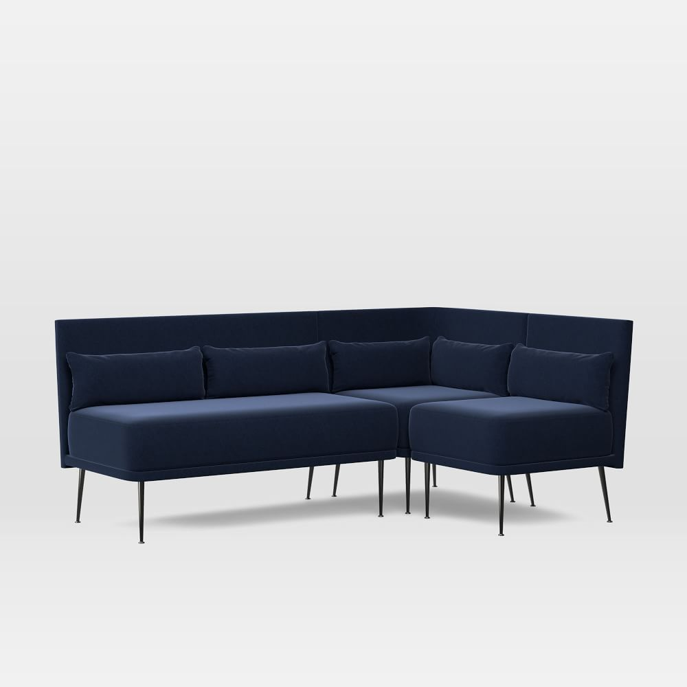 Modern 3-Piece Banquette - Small