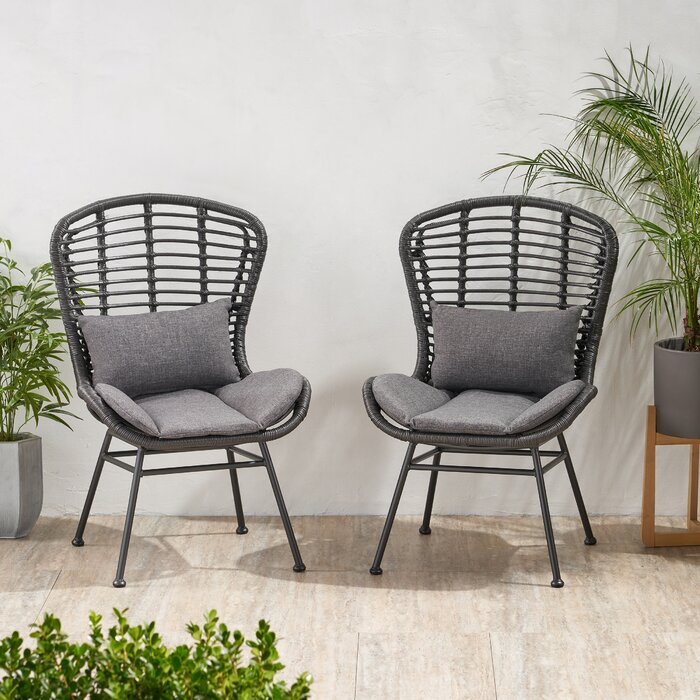 Kidsgrove Patio Chair with Cushions