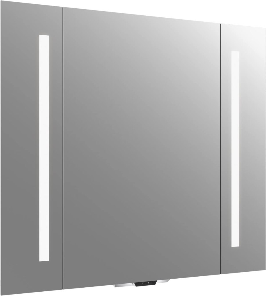 """Vanity Mirror with Lights by KOHLER, Bathroom Vanity Mirror with Amazon Alexa, Verdera Voice Collection, 40"""" Wide By 33"""" High, K-99573-VLAN-NA"""